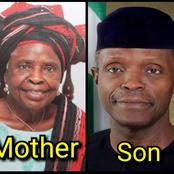 Today Is Yemi Osinbajo's Birthday, See Photos Of His Mother, Wife And Children