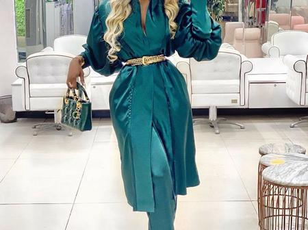 30 Trendy Satin Dress Designs For Your Special Events