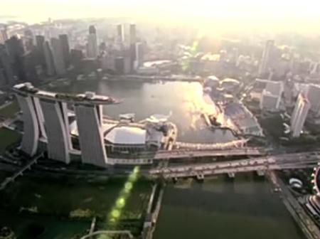 A Tour of Singapore's $5.5 Billion Luxury Hotel. (See Photos)