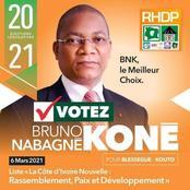 Le ministre Bruno Koné en colère :