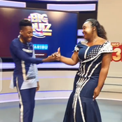 'My Bride For The Night' Eric Omondi As He Matches Outfits With Betty Kyallo