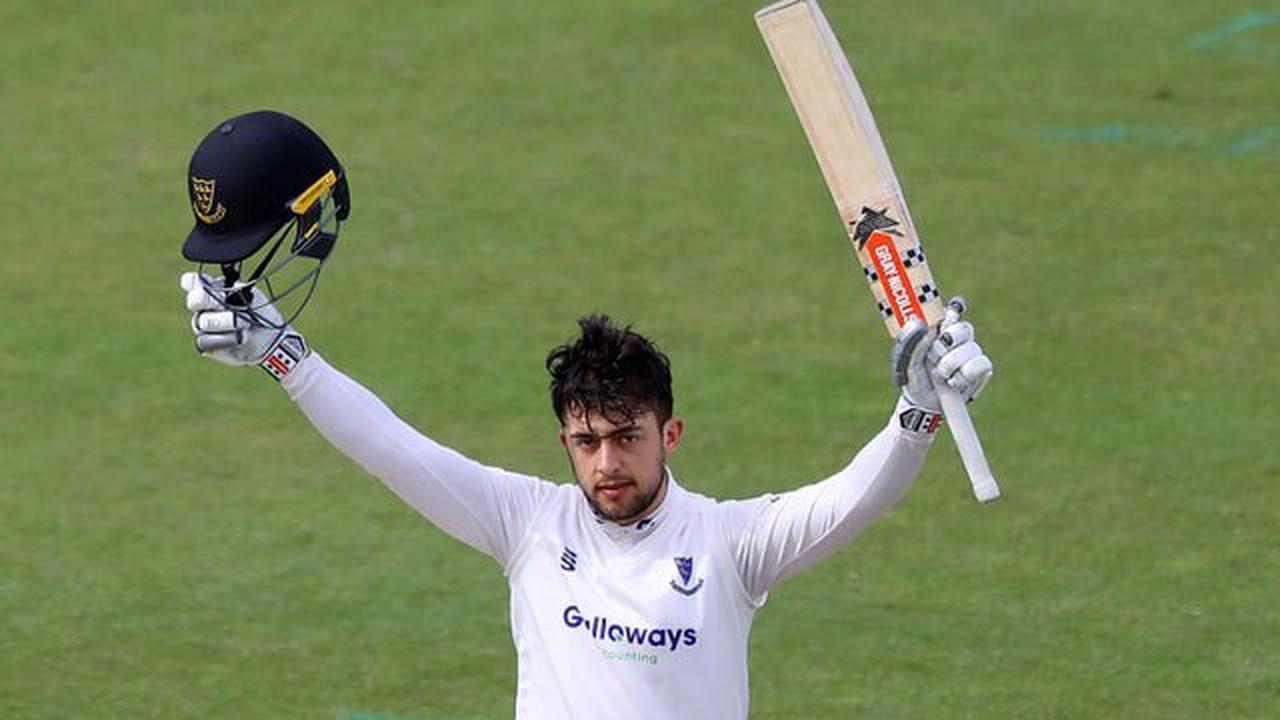Haines hundred gives Sussex good championship start at Old Trafford