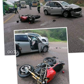 Accident claims a life of Motorbiker after VW Polo driver collided head on with a Motorbike