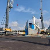 Infrastructures: le Port de San-Pedro se modernise avec l'arrivée de trois nouvelles grues mobiles