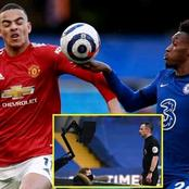See What Ex-Referee Mark Clattenburg Said About Hudson Odoi's Handball Against Man United