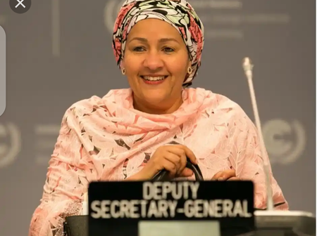 She Is A Fulani Woman From Nigeria, And currently She Is The United Nations Deputy Secretary General