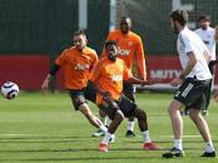 Peep photos of Wan Bissaka, Fred and Telles and other United players in training.
