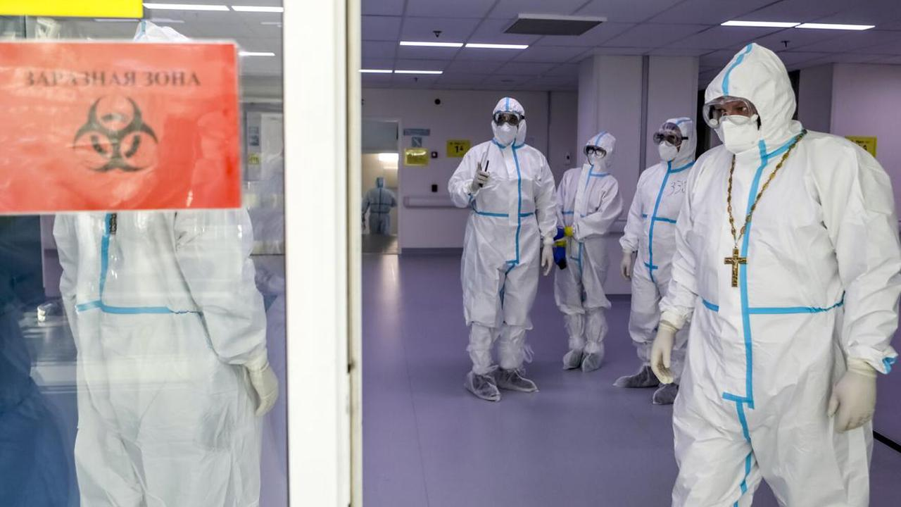 The Latest: Russian updates show more than 100K virus deaths