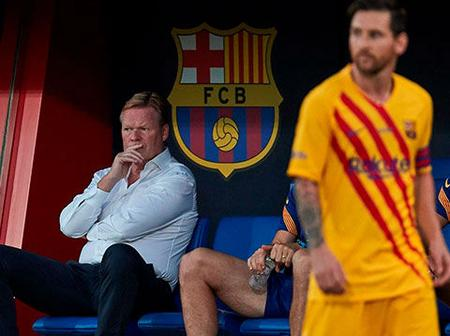 Barca boss Koeman: The 4-2-3-1 formation is perfect for the team