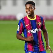 Barcelona fans receive good news about young star.