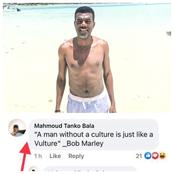 After Reno Omokri was critized for sharing a photo of himself on the beach, see how he reacted