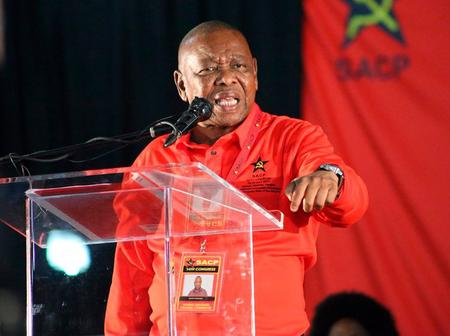 The Silence of Dr Blade Nzimande on The Issue of Jacob Zuma is Raising Eyebrows (Opinion)