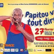 Spectacle - Humour : ''Papitou va tout dire'' le 27 février 2021