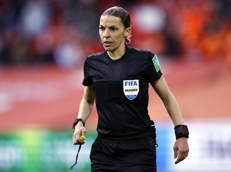 The First Female To Referee A Men's World Cup Qualifying Match