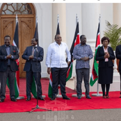 Ruto Misses As Uhuru Kenyatta Hosts Leaders From Different Political Divide Over The BBI