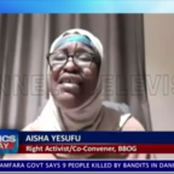 An Open Letter To Aisha Yesufu Over Her Insulting Statement About Mr President