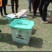 Chaos in Matungu By-election as a Youth at Munami Polling Station Snatches Ballot Box(Video)