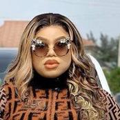 Bobrisky Stuns In Animal Skin Jumpsuit, Check It Out