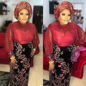 Check Out How To Slay Your Lace Aso Ebi Styles As Fashionistas
