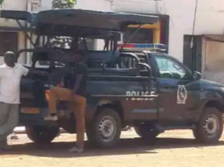 Dramatization as KDF officer beats up three armed police officers