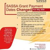 Sassa grant payment dates and other details you need to know