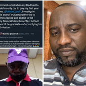 After He Said He Was Unemployed, Read What A Man Promised To Do For His Son Till He Graduates
