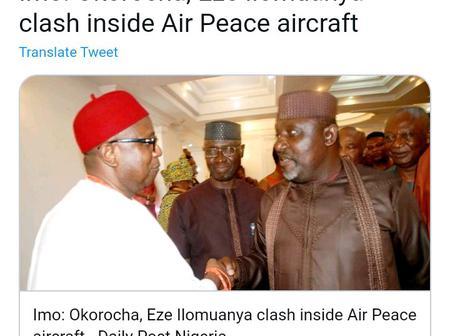 Bad Blood Between Eze Ilomuanya And Rochas Deepens
