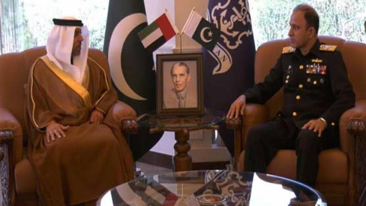 Naval Chief discusses maritime security with UAE ambassador