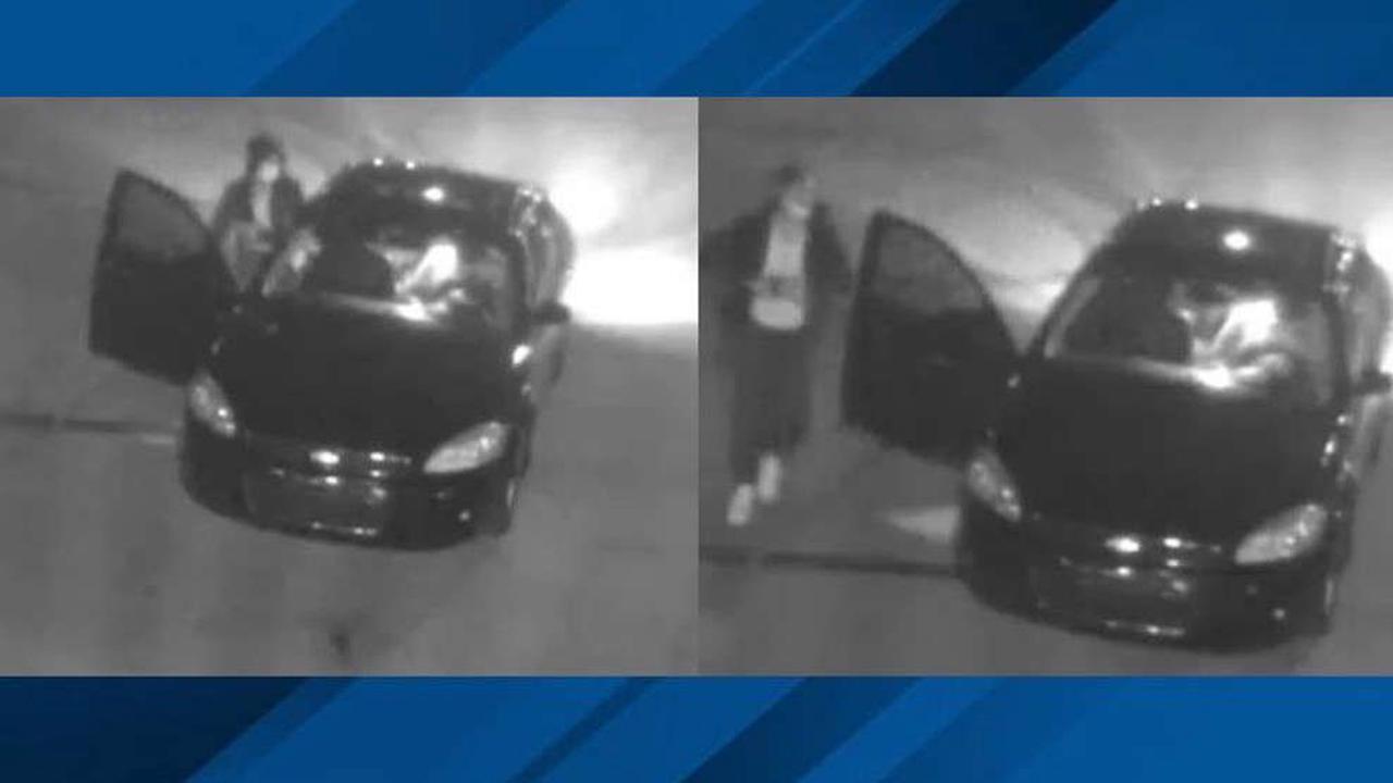 Investigators searching for pair accused of vandalizing police memorial