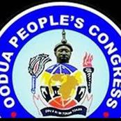 We Are Not Part Of Oduduwa Republic's Agitators - OPC President