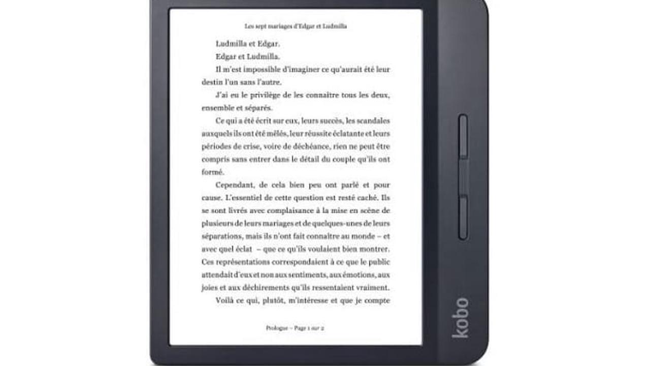 La liseuse Kobo Libra H20 bénéficie d'une remise immédiate de 20 € à la Fnac