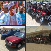 Senator Distribute Vehicles To Citizen Of Katsina State