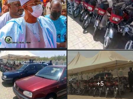 Senator Distribute Vehicles To Citizen Of Katsina State