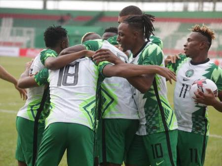 Nigeria Qualifies For AFCON 2022 Before The Game Against Benin Republic
