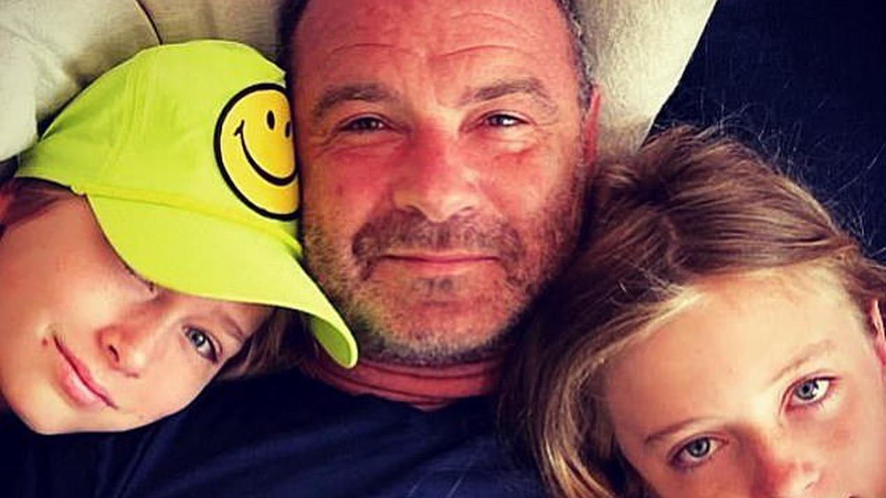 Friendly exes! Liev Schreiber posts a picture with his sons Sasha, 14, and Kai, 12, as he pays tribute to ex Naomi Watts on her birthday
