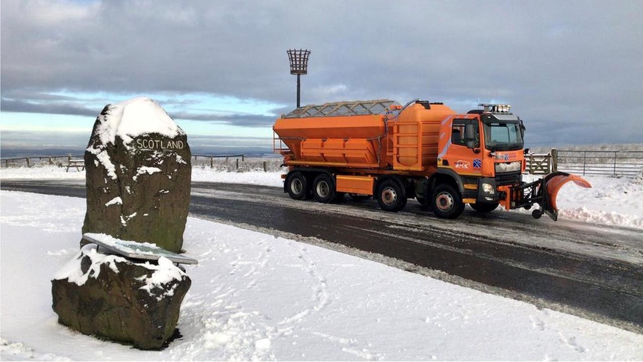 Blanket of snow and travel disruption forecast across Scotland