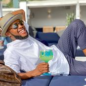 Check How Happy Somizi's Husband, Mohale Has Been Since The Rumours That He & Somizi Have Broken-Up.