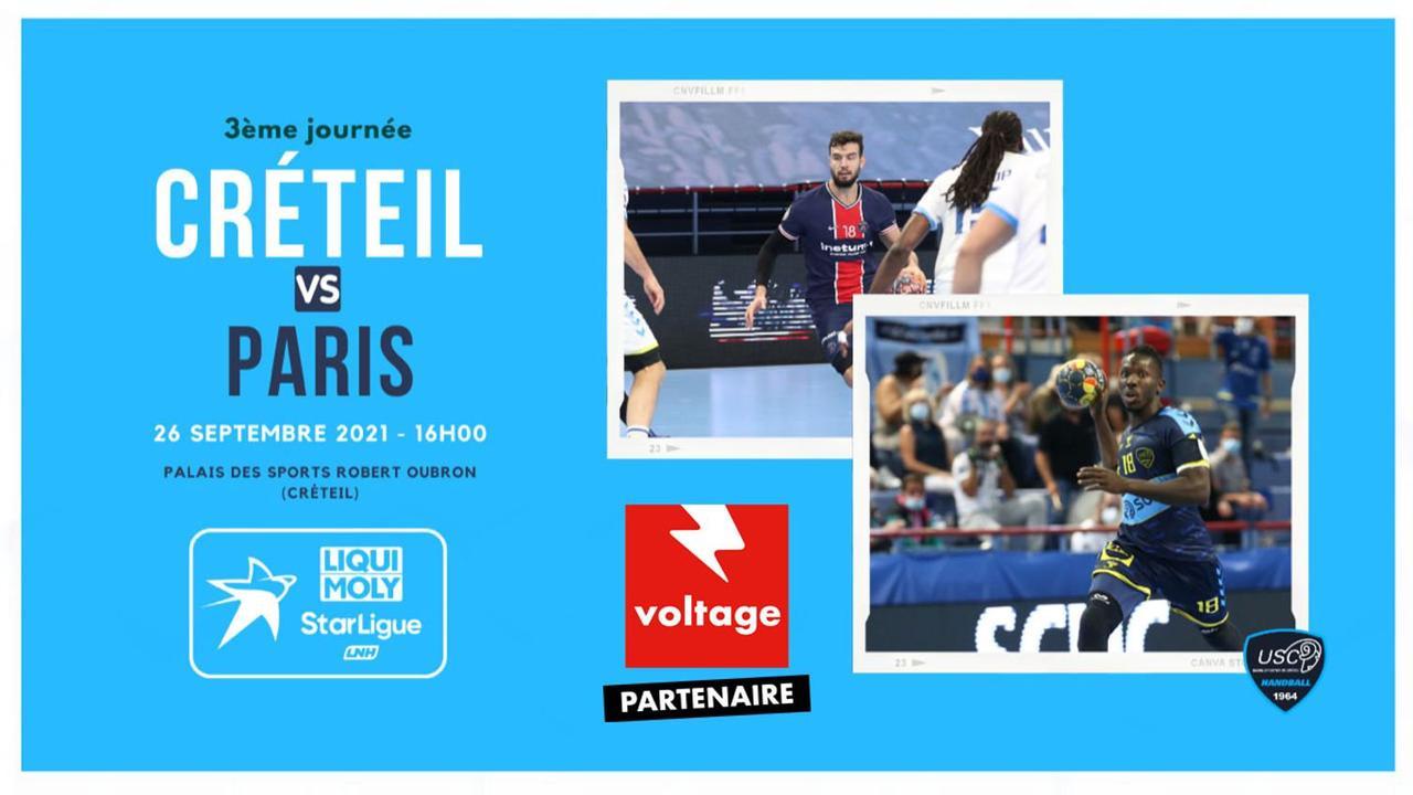 Handball : gagnez vos places pour le match US Créteil - Paris Saint-Germain