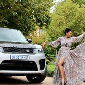 Basetsana Kumalo leaves her fans speechless with her recent picture.