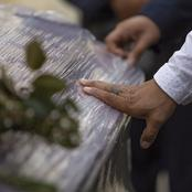The department of Health said there's no use of covering coffins with plastics,