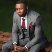 Isibaya actor got fans going crazy over his pictures rocking a stylish suit and looking handsome.