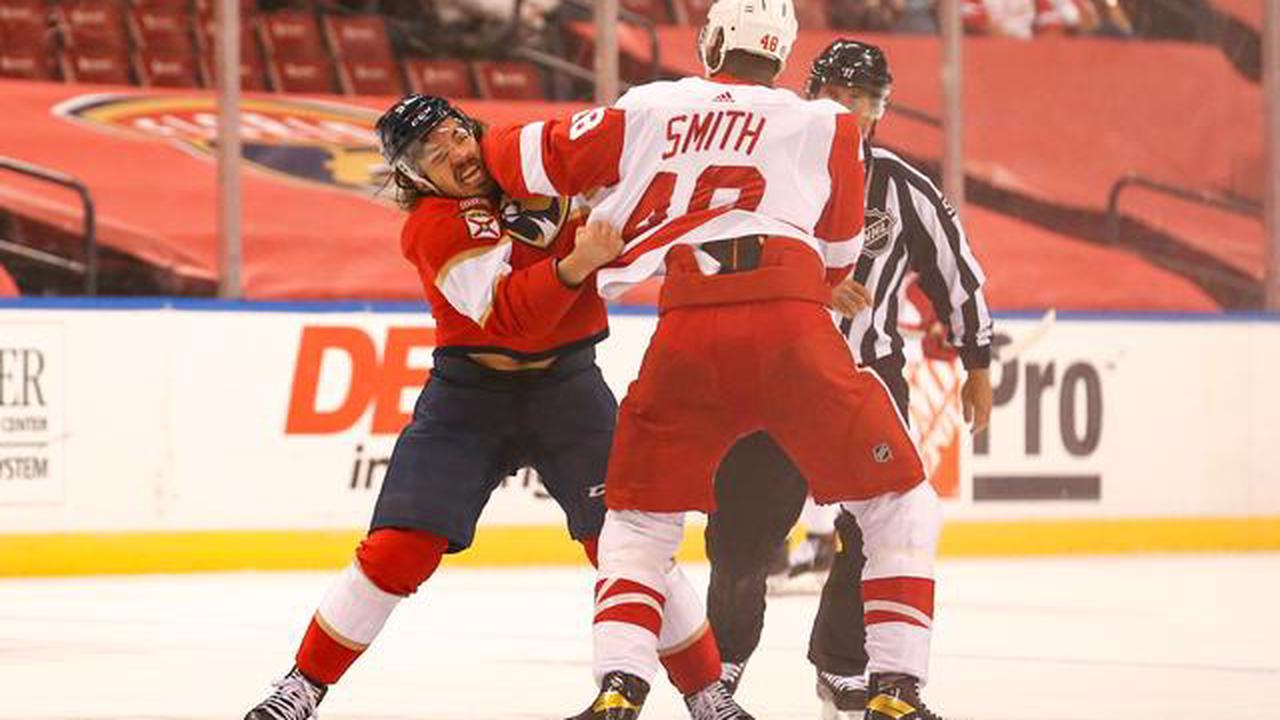 Alex Wennberg's OT winner lifts Panthers over Red Wings
