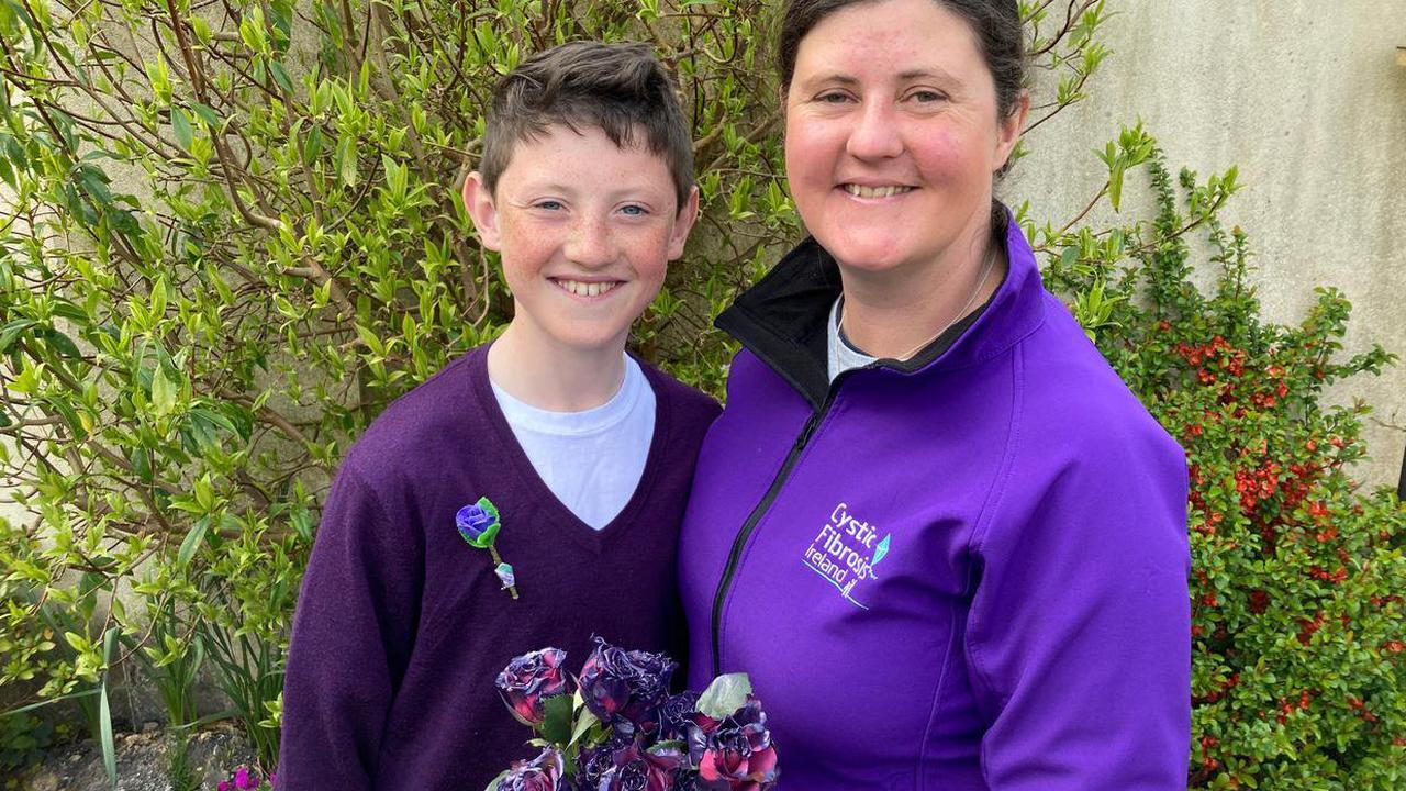 'We have been living in a cocooning bubble since Harry was born' - mother of 12 year old with cystic fibrosis raises awareness for 65 Roses Day