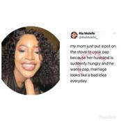 Fans Attack A Lady who Said Marriage Looks Like A Bad Idea Everyday