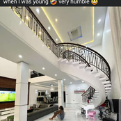 See the Nigerian celebrity that said he was always humbled whenever he visited the rich