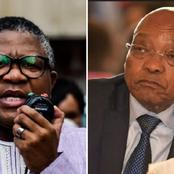 People Are Calling For Fikile Mbalula To Talk After He Said This About Zuma
