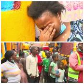 (Video) Drama as a Merciless Landlord Removes Roof of a Tenant And Leaves His Children Being Rained on