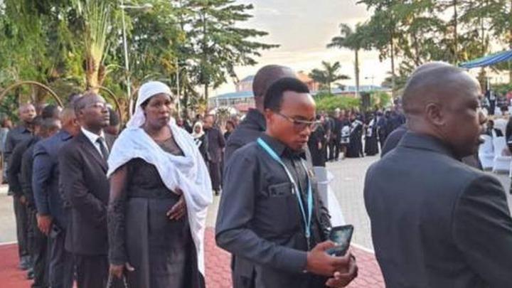 c8481bf3acfa46feb1d51d6d10f6461f?quality=uhq&resize=720 - Day 2: Sad Scenes From Tanzania As Their President, John Magufuli Funeral Rites Proceeds - Photos