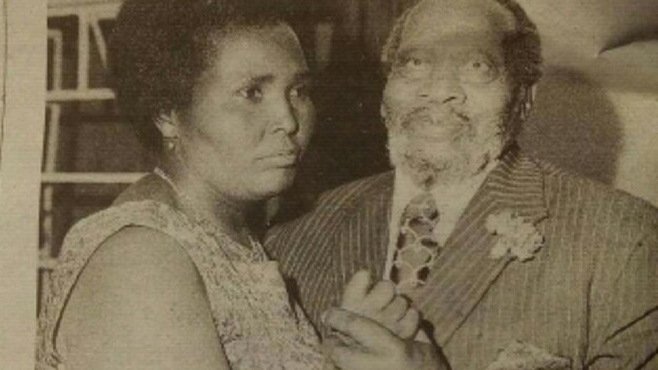 1972 When Jomo Kenyatta Took to The Floor With Mrs Lena Moi at The Fundraising Dance (Photo)