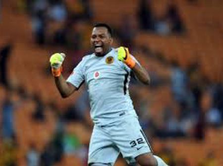 Itumeleng Khune is leaving Kaizer Chief at the end of the season